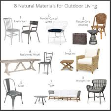 Remove Rust From Outdoor Furniture by The 8 Natural Materials Perfect For Outdoor Living