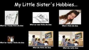Little Sister Meme - my little sister s hobbies by xzethanyx on deviantart