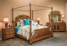 Exotic Bed Frames by Excursions Canopy Classic Bed By Aico Furniture Aico Bedroom