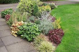 Small Garden Border Ideas Shrub Border Plans Small Garden Border In Leicestershire