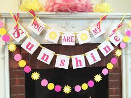 You Are My Sunshine Decorations You Are My Sunshine Birthday Decorations Child U0027s Room Decor