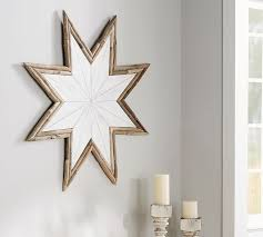 Pottery Barn Christmas Decorations Sale by Driftwood Star Wall Art Pottery Barn