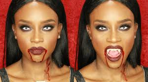 vampire makeup tutorial easy halloween makeup youtube
