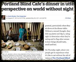 How People Go Blind Blind Cafe Social Change Programs See What People Are Saying