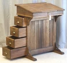 Antique Small Desk This Is Nearly But Not Quite An Imitation Of A Davenport Desk A