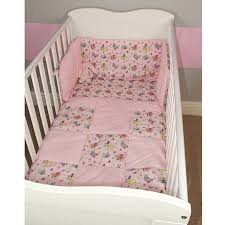 Cot Bedding Set Their Nibs Cot Bedding Set Pink Fairies On The Catwalk