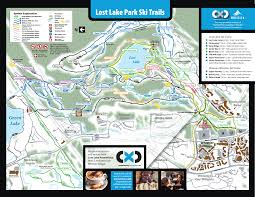Whistler Canada Map by Snowshoe Cross Country Connection