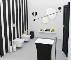 Black And White Bathroom Decorating Ideas Black And White Bathroom Bathroom Design Style At Home Black And