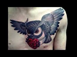 traditional owl tattoos youtube