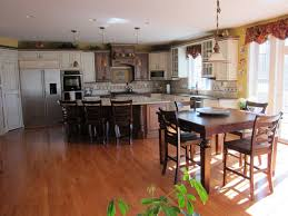kitchen islands breakfast bar stools black cabinets countertops