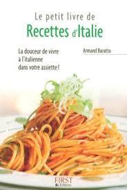 livre cuisine italienne petit livre cuisine italienne