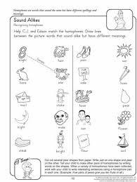 homophone worksheets for 2nd grade mreichert kids worksheets
