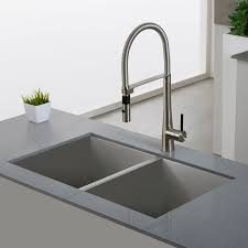 kpf 2730ss crespo single lever commercial style kitchen faucet