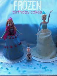 disney frozen birthday cakes girls