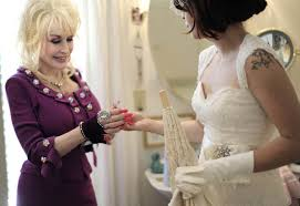dolly parton wedding dress dolly parton plays godmother rock n roll