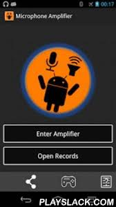 the voice app android microphone lifier android app playslack microphone