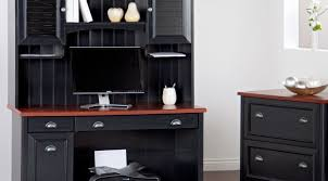 outstanding design computer desk with shelves terrifying black