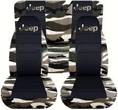 pink camo jeep jeep wrangler yj tj jk 1987 2017 camo u0026 black seat covers front
