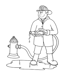 fireman coloring pages for kids printable coloring home