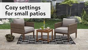 Small Patio Chair Patio Furniture Walmart