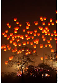 fireworks lantern sky lanterns for your wedding yah or nay