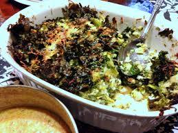 chou cuisine onze zucchini and kale gratin tian de courgettes aux chou frisé