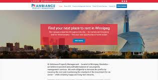 ambiance property management winnipeg property manager