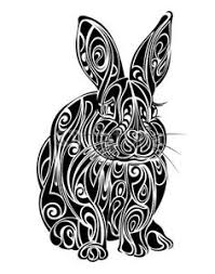 bunny tattoo design by manasurge on deviantart love this