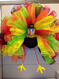 thanksgiving in 2015 turkey deco mesh wreath deco mesh pinterest deco mesh