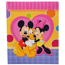 minnie mouse photo album album books