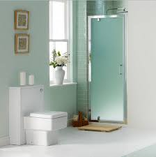 Modern Bathroom Door Modern Bathroom With Frosted Glass Shower Doors Home Doors