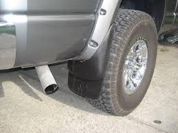 Dodge Ram Good Truck - factory mudflaps with pocket flares done dodgetalk dodge car