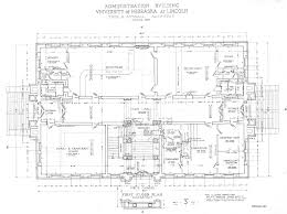 Us Senate Floor Plan Unl Historic Buildings Administration Building Old Building Plans