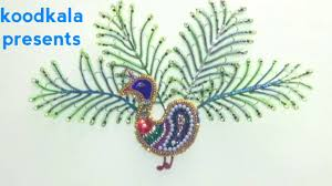 diy ideas how to make peacock at home thakur ji decoration how to