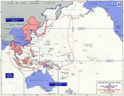 Ww2 Europe Map by Map Of Wwii Far East And Pacific 1942