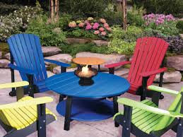 Adirondack Chair Colors Amish Deluxe Poly Adirondack Chair
