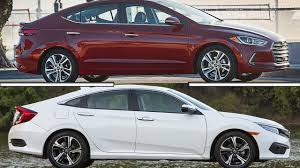 honda civic or hyundai elantra hyundai elantra vs honda civic sedan