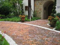 Brick Pavers Pictures by Clay Brick Pavers Driveway Pavers Orlando Florida