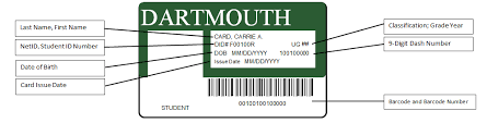 How To Make Employee Id Cards - dartmouth card