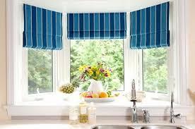Kitchen Bay Window Curtains by Good Bay Window Curtain Rods Wearefound Home Design