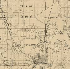 Florida On The Map by Big Changes In Florida On 2 Duval County Maps Old Maps Blog