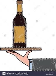 cartoon wine bottle waiter cartoon stock photos u0026 waiter cartoon stock images alamy