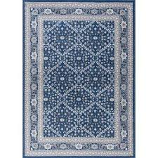 8 X 9 Area Rugs 8 X 10 Tayse Rugs Blue Area Rugs Rugs The Home Depot