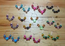 hoop beaded earrings hoop and bead earrings my own version jewelry journal