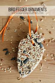 craft bird seed ornaments see craft