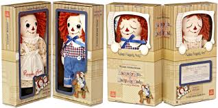 raggedy ann u0026 andy awake asleep dolls limited edition boxed set