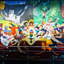 Denver International Airport Murals Pictures denver airport conspiracy the sarvases