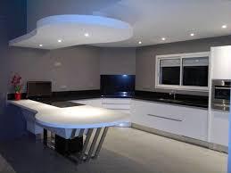 cuisine moderne ouverte cuisine et salon moderne en galerie avec charmant cuisine moderne