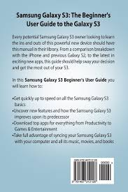 samsung galaxy s3 manual the beginner u0027s user u0027s guide to the