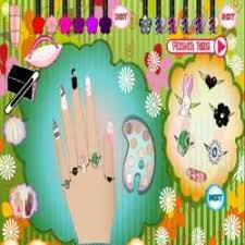 Nail Art Designs Games Nail Polish Games For Girls To Play Prom Nail Design Cute Blue